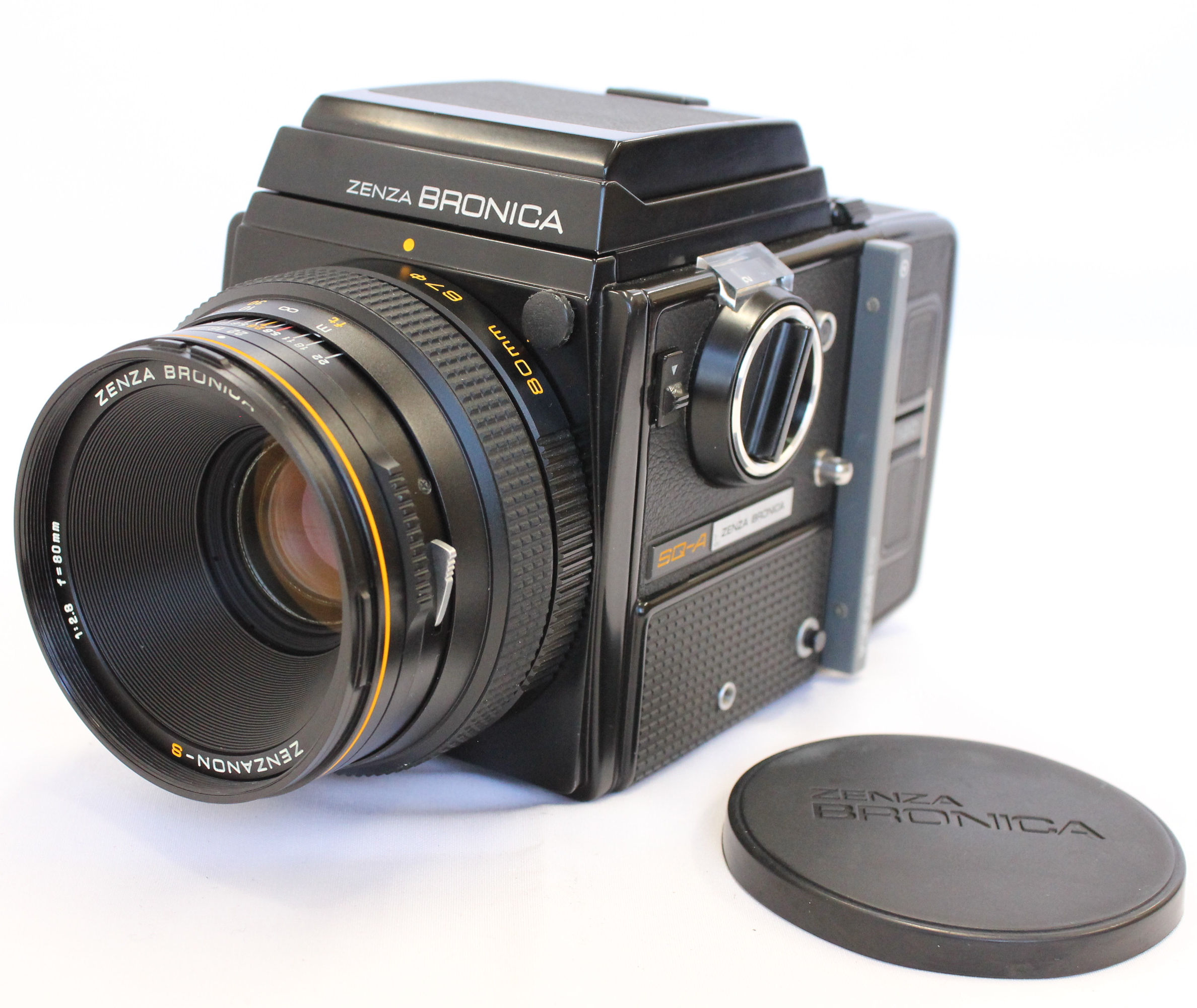 Japan Used Camera Shop | [Near Mint] ZENZA BRONICA SQ-A w/Zenzanon-S 80mm F2.8 Lens from Japan
