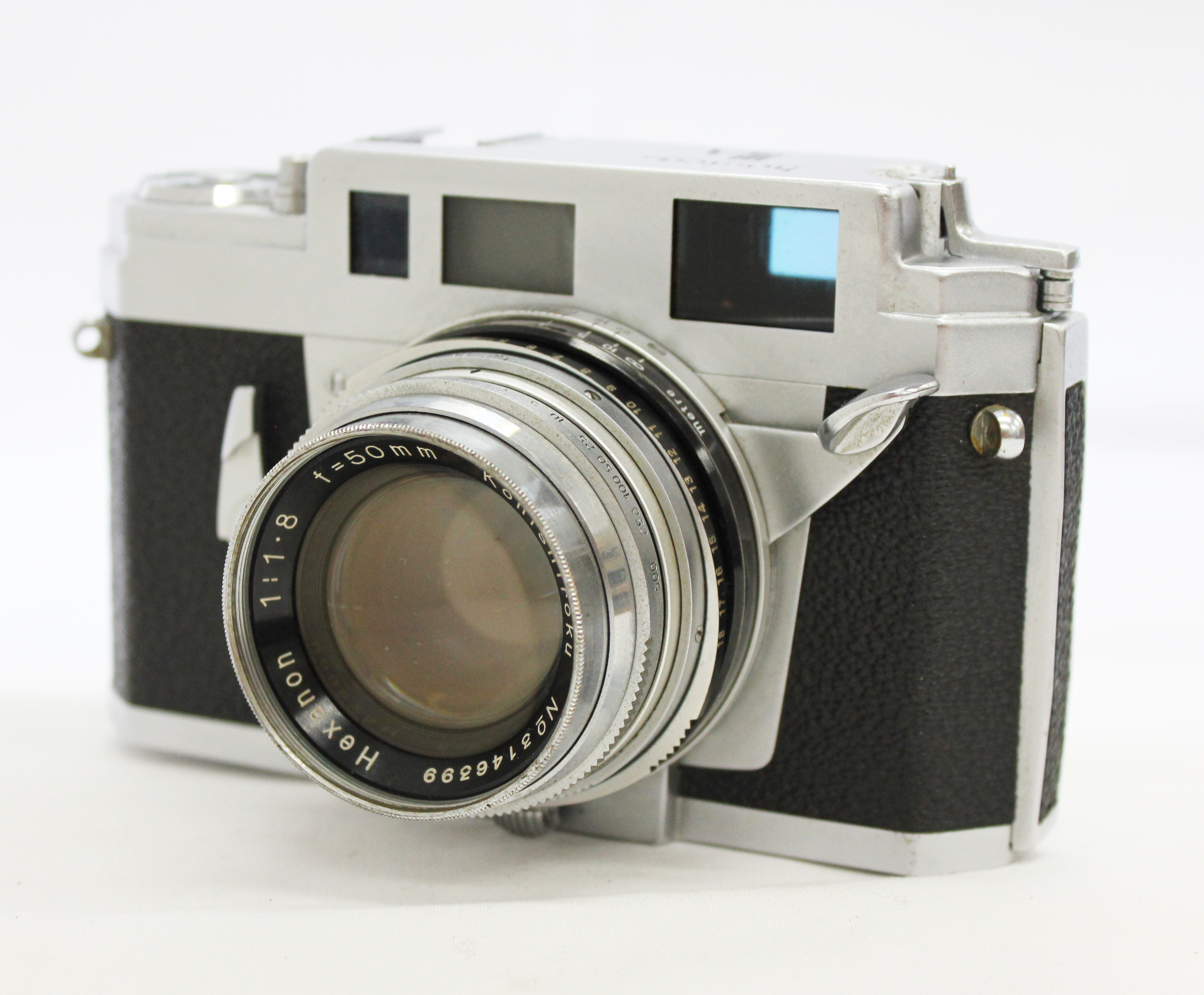Japan Used Camera Shop | [Excellent+++] Konica III A 35mm Rangefinder Film Camera w/ 50mm F1.8 Lens from Japan