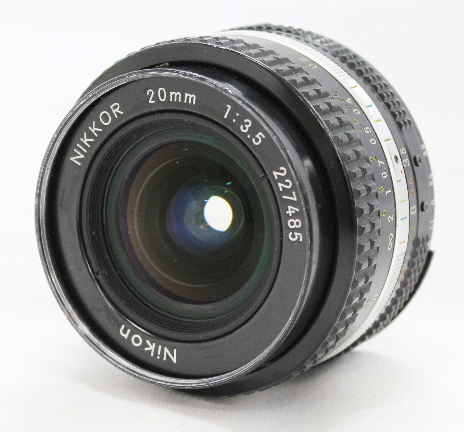 [Excellent++++] Nikon Ai-s Ais Nikkor 20mm F/3.5 Wide Angle MF Lens from Japan