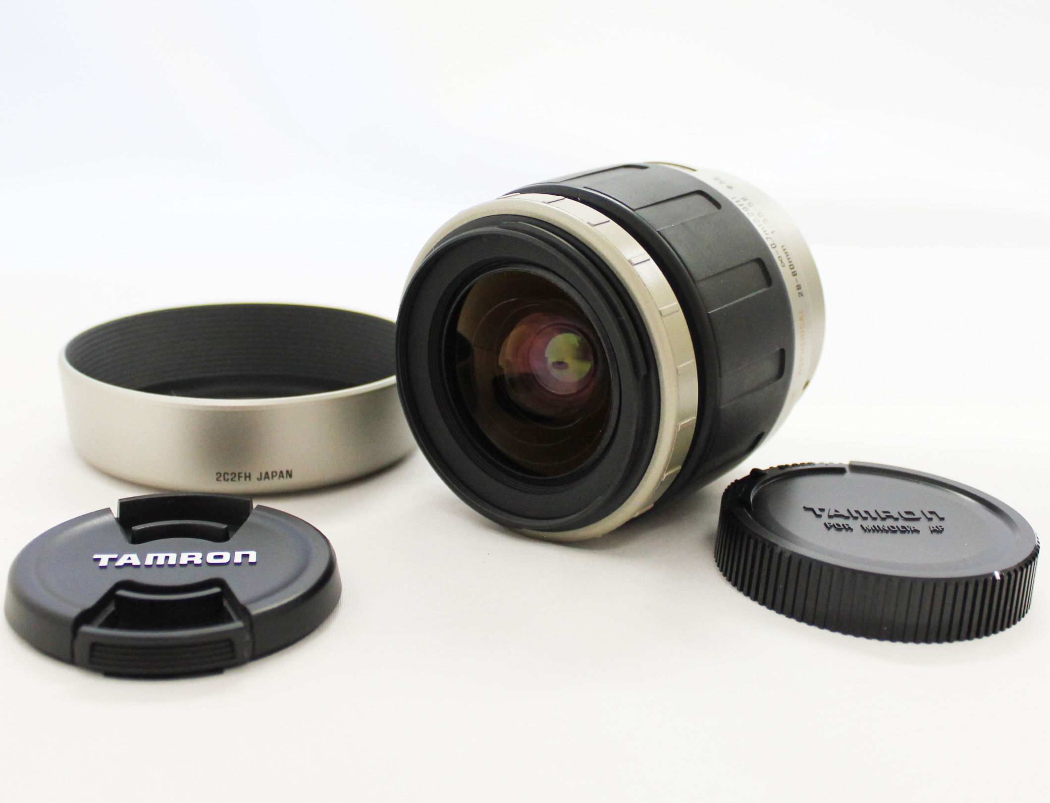 Japan Used Camera Shop | [Unused] Tamron AF 28-80mm F/3.5-5.6 Lens with Hood for Minolta/Sony A Mount from Japan