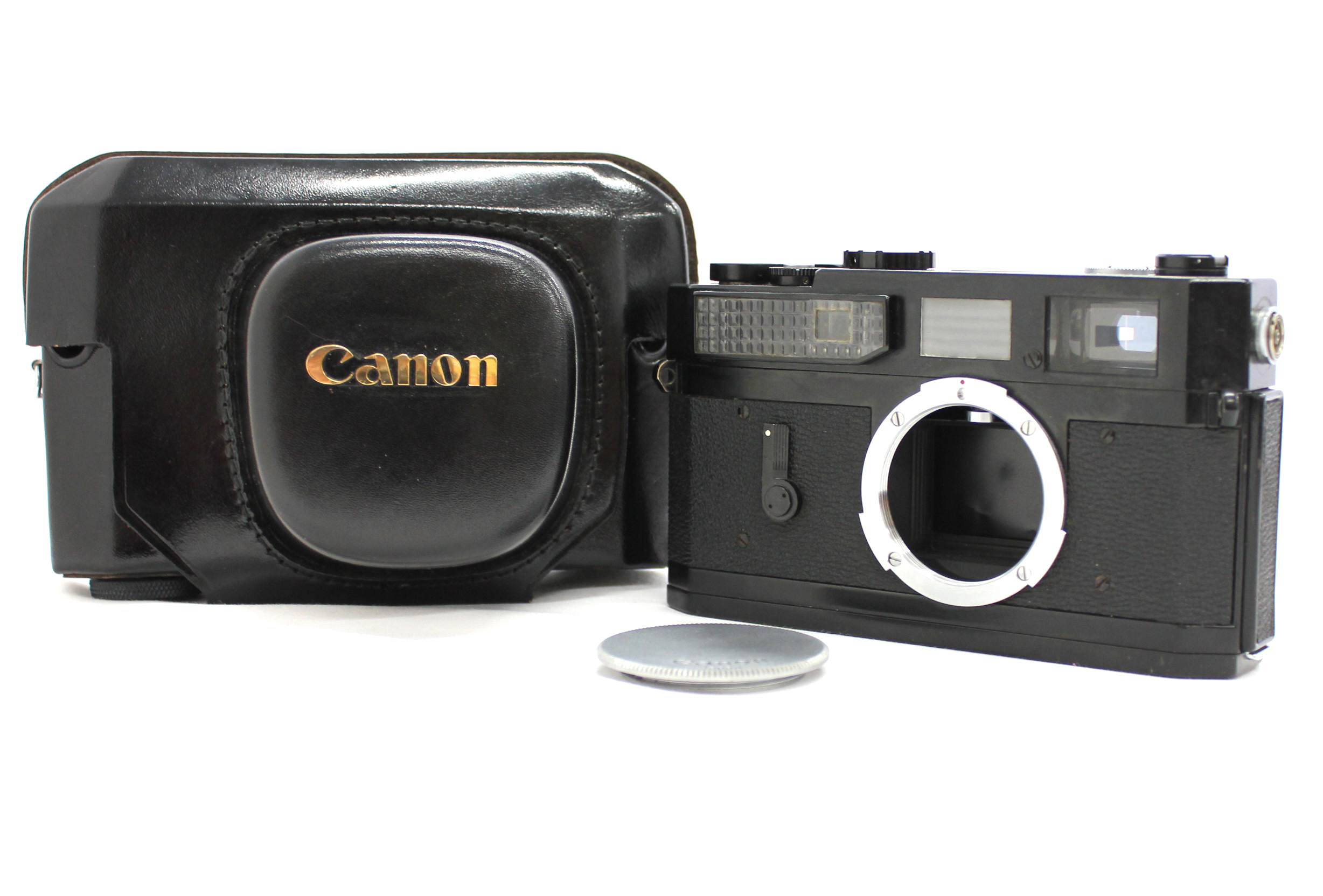 Japan Used Camera Shop | [Excellent++] Canon Model 7 Original Black Paint Rangefinder Film Camera from Japan