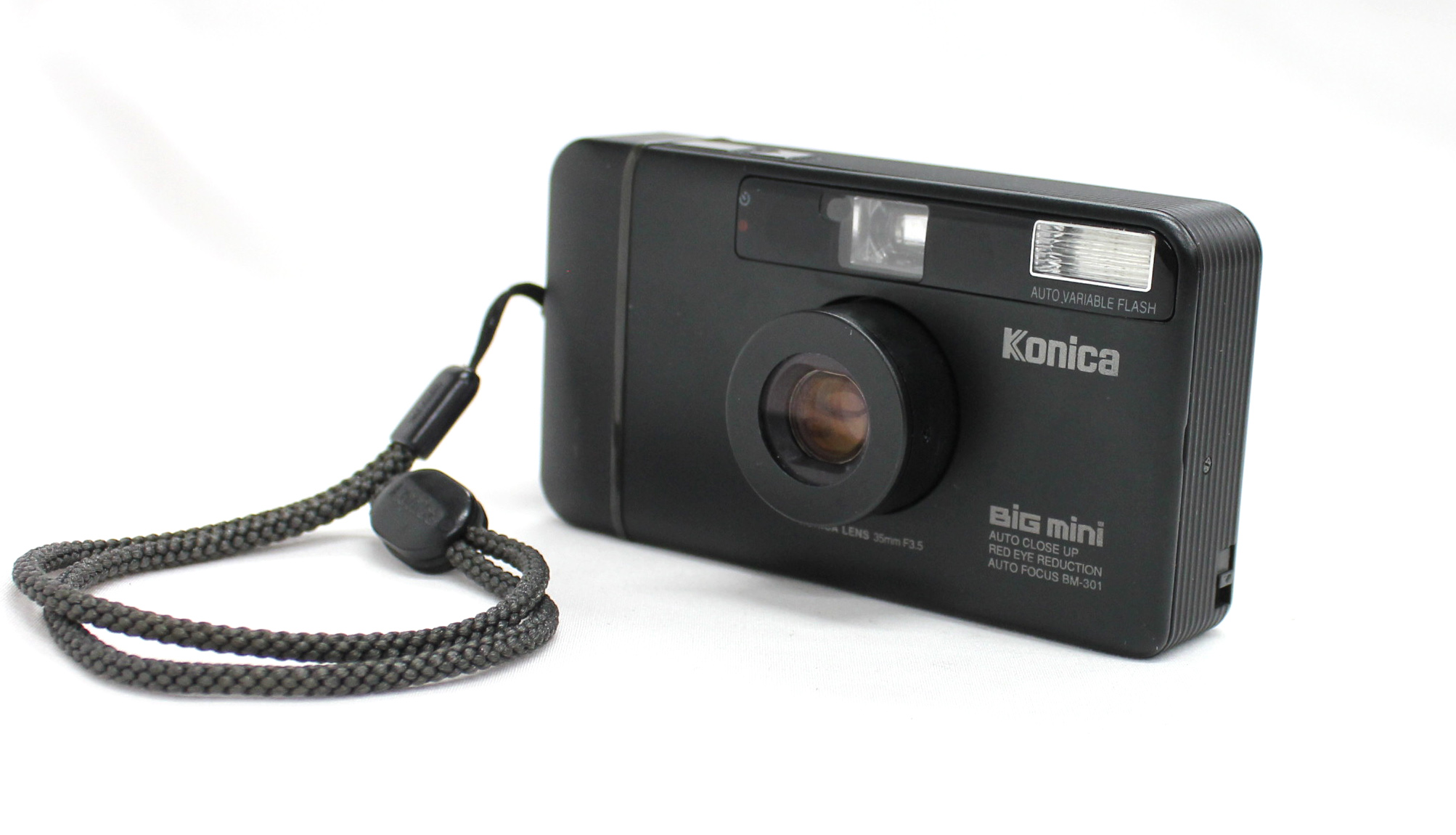 Japan Used Camera Shop | [Excellent+++++] Konica Big Mini BM-301 35mm Point & Shoot Film Camera from Japan