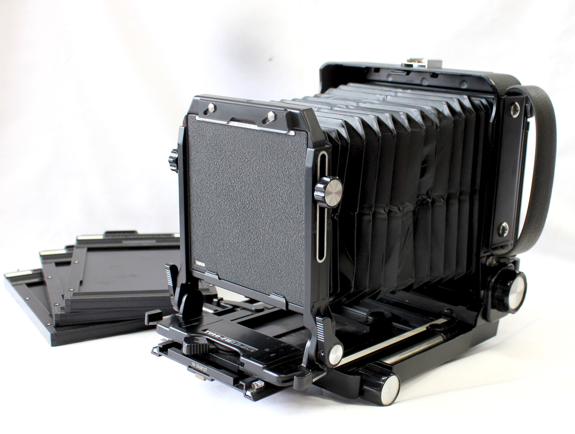Japan Used Camera Shop | [Excellent+++++] Toyo Field 45A 4x5 Large Format Film Camera with Revolving Back and 3 Cut Film Holders from Japan