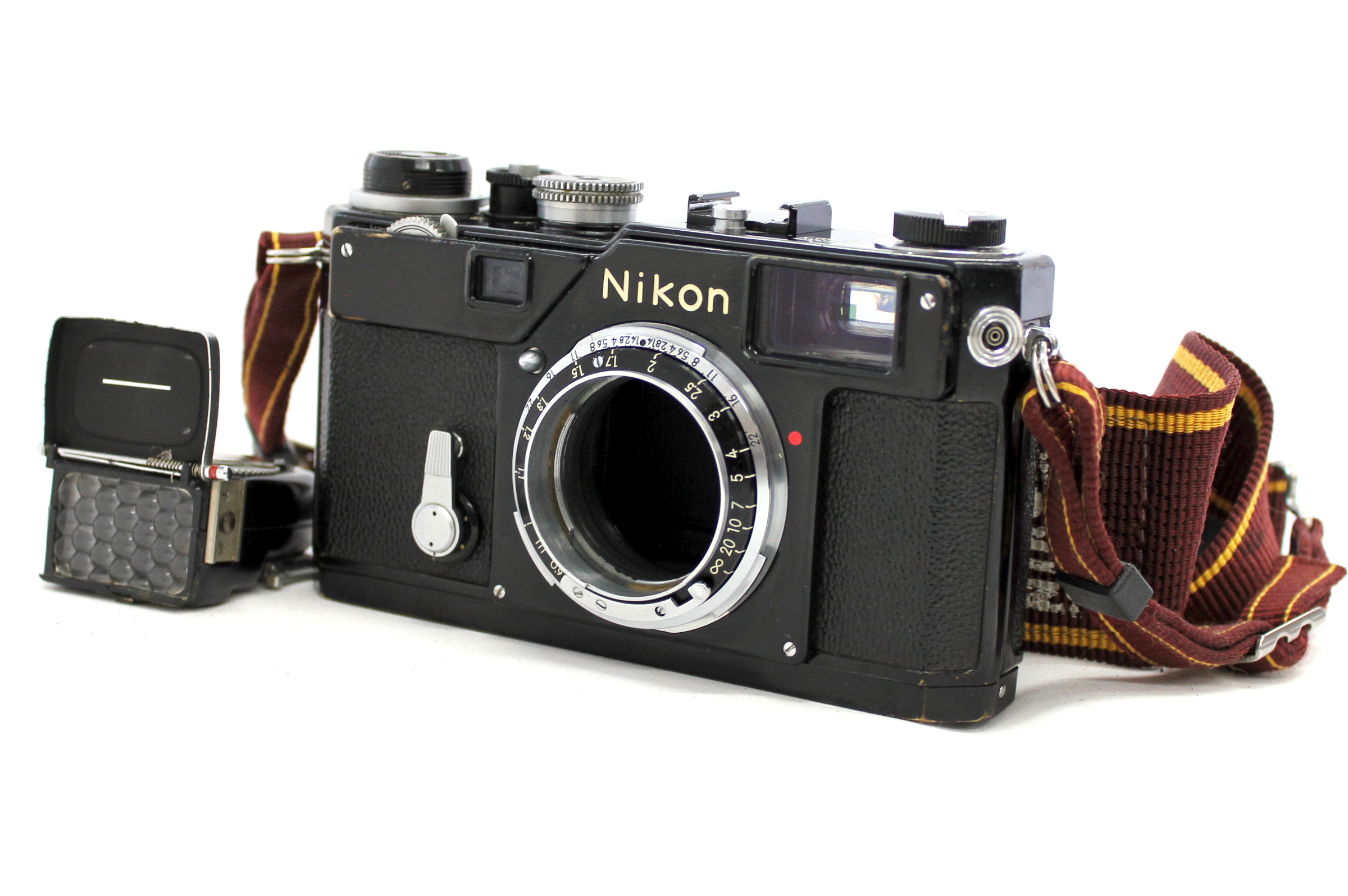 Japan Used Camera Shop | [Excellent++++] Nikon S3 Olympic Black Camera Body 1965 S/N 632* with Meter from Japan