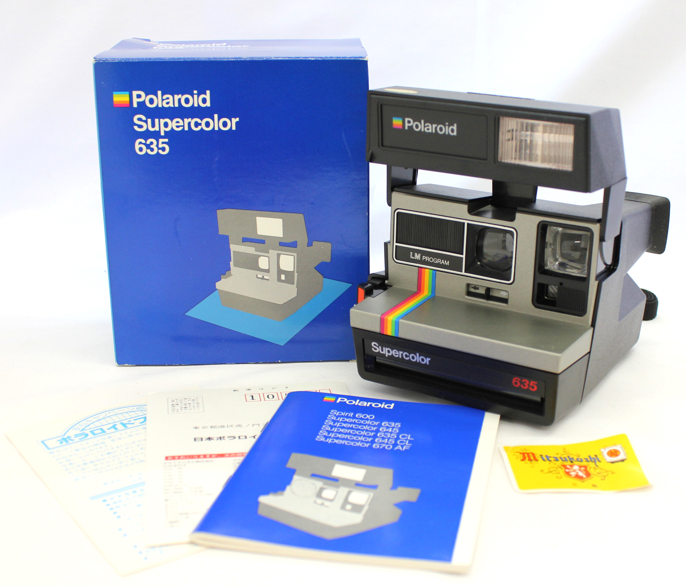 Japan Used Camera Shop | [Mint in Box] Polaroid Supercolor 635 LM Program (Tested) from Japan