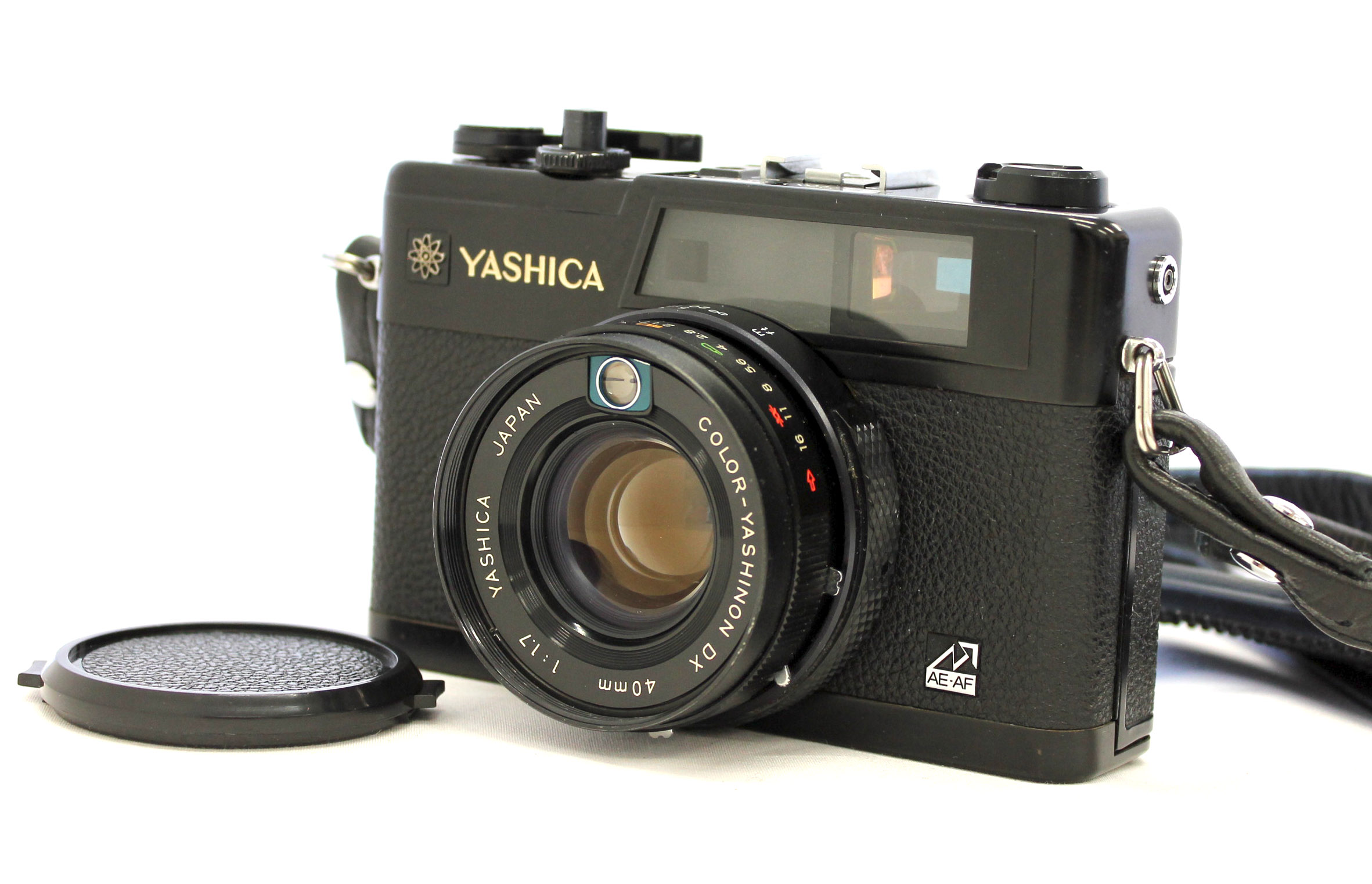 Japan Used Camera Shop | [Excellent+++++] Yashica Electro 35 GX Rangefinder Camera Black w/40mm F/1.7 Lens from Japan