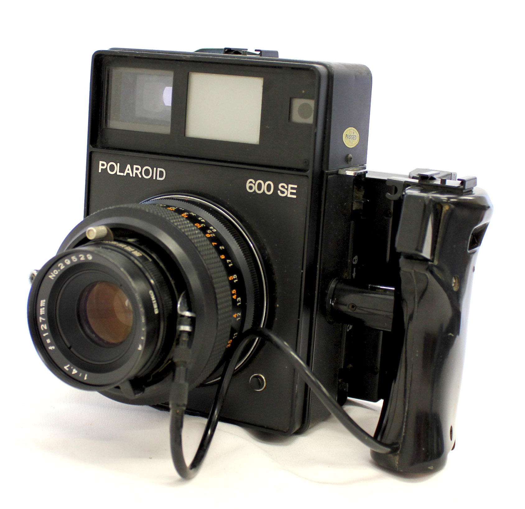 Japan Used Camera Shop | [Exc+++] Polaroid 600 SE Instant Camera w/ Mamiya 127mm F/4.7 Lens and Polaroid Back from Japan