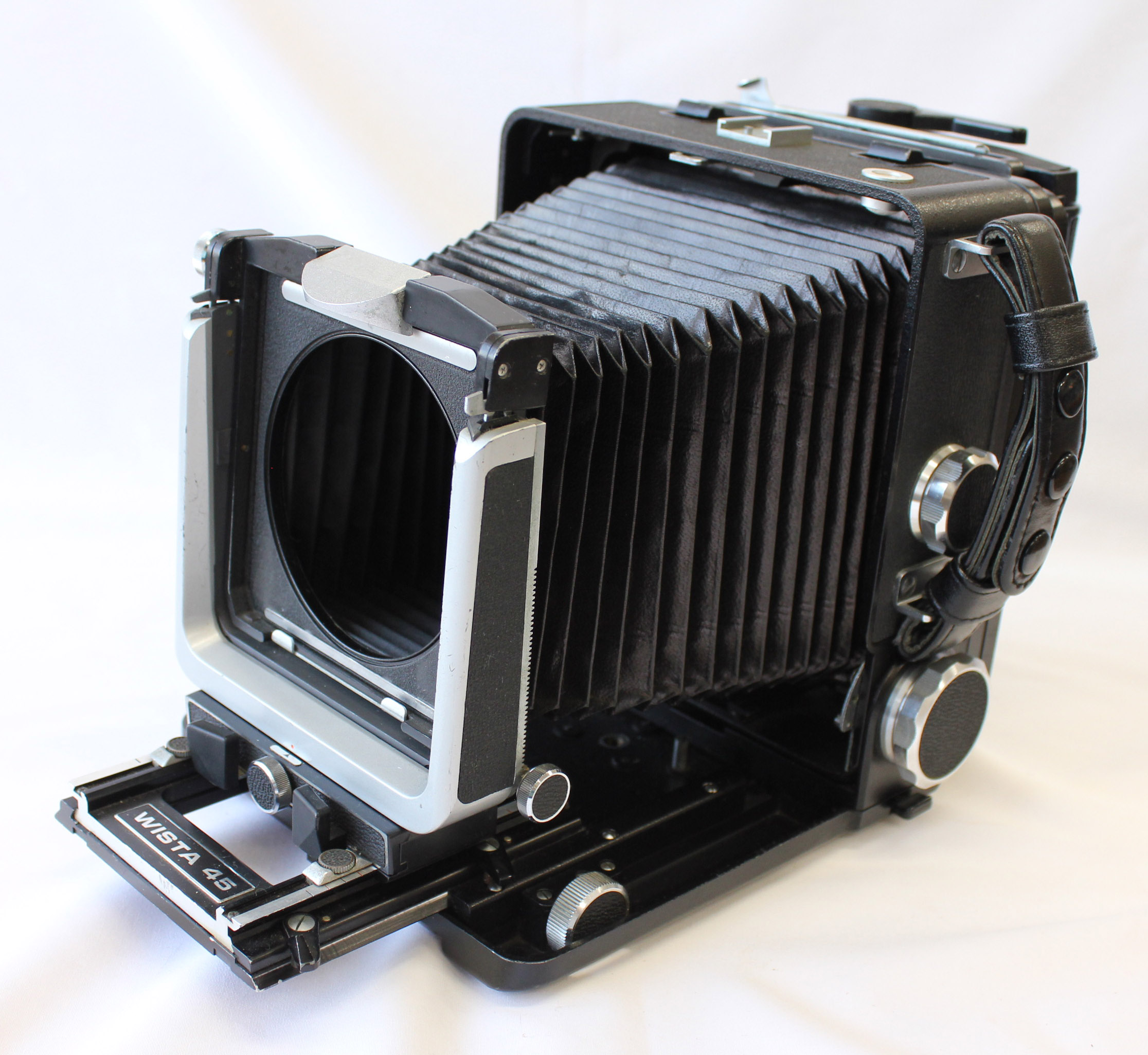 Japan Used Camera Shop | [Exc++++] Wista 45 45D 4x5 Large Format Camera w/ 6x9 Roll FIlm Holder & Quick Roll Slider from Japan