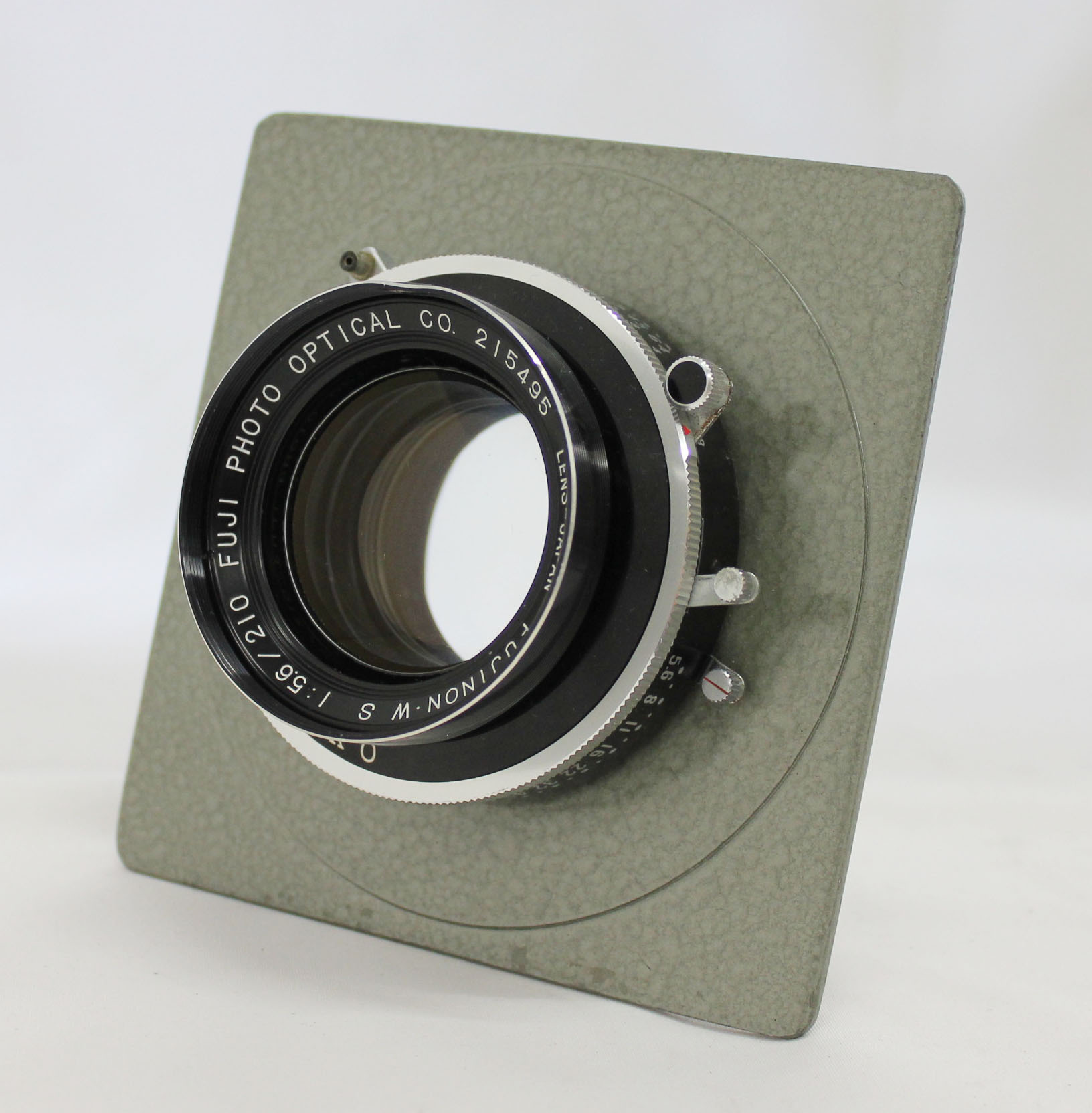 Japan Used Camera Shop | [Exc+++] Fuji Fujinon W S 210mm F/5.6 4x5 Large Format Lens with Seiko Shutter from Japan