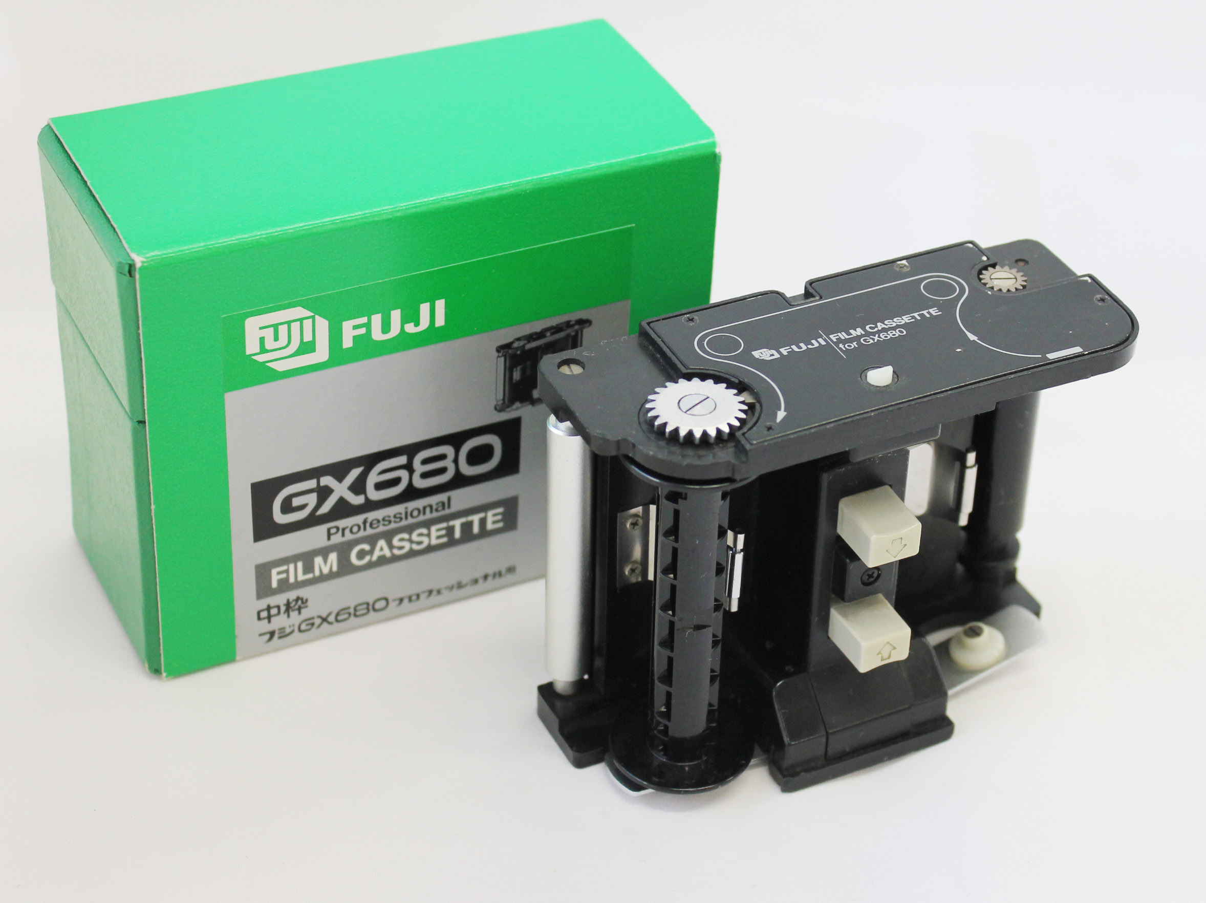 Japan Used Camera Shop | Fuji Fujifilm GX680 Professional Film Casette Insert in Box from Japan