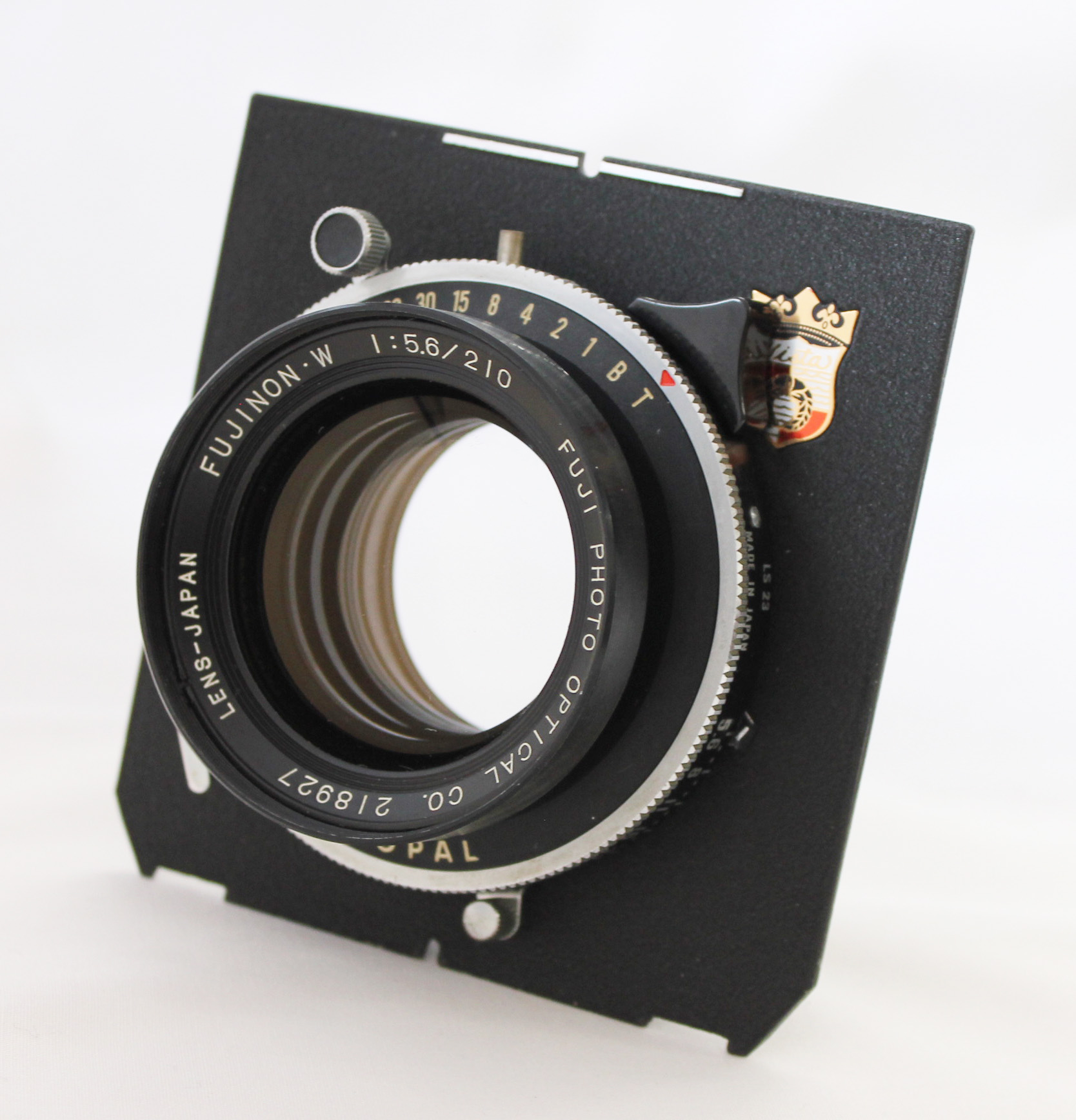 Japan Used Camera Shop | [Exc++++] Fuji Fujinon W 210mm F/5.6 4x5 Large Format Lens with Copal Shutter from Japan