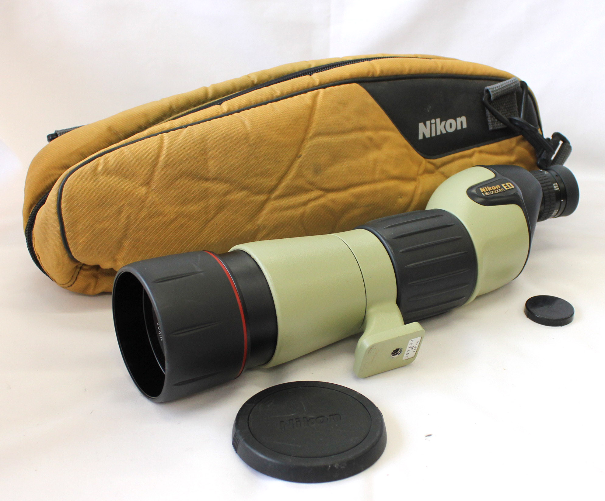 [Excellent+++++] Nikon Fieldscope ED D=60 P with 20-45x Eye Piece from Japan