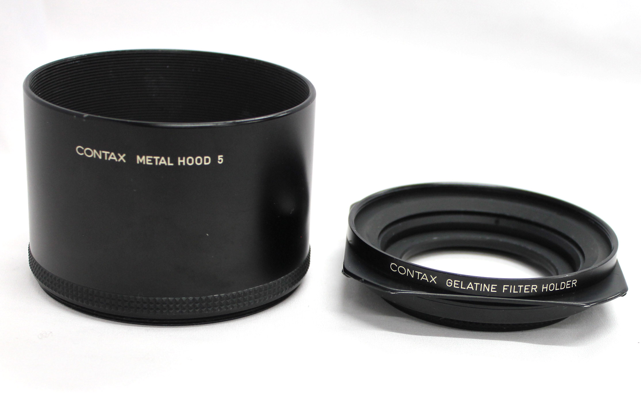 Japan Used Camera Shop | [Exc+++++] Contax Metal Hood 5 with Gelatine Filter Holder from Japan