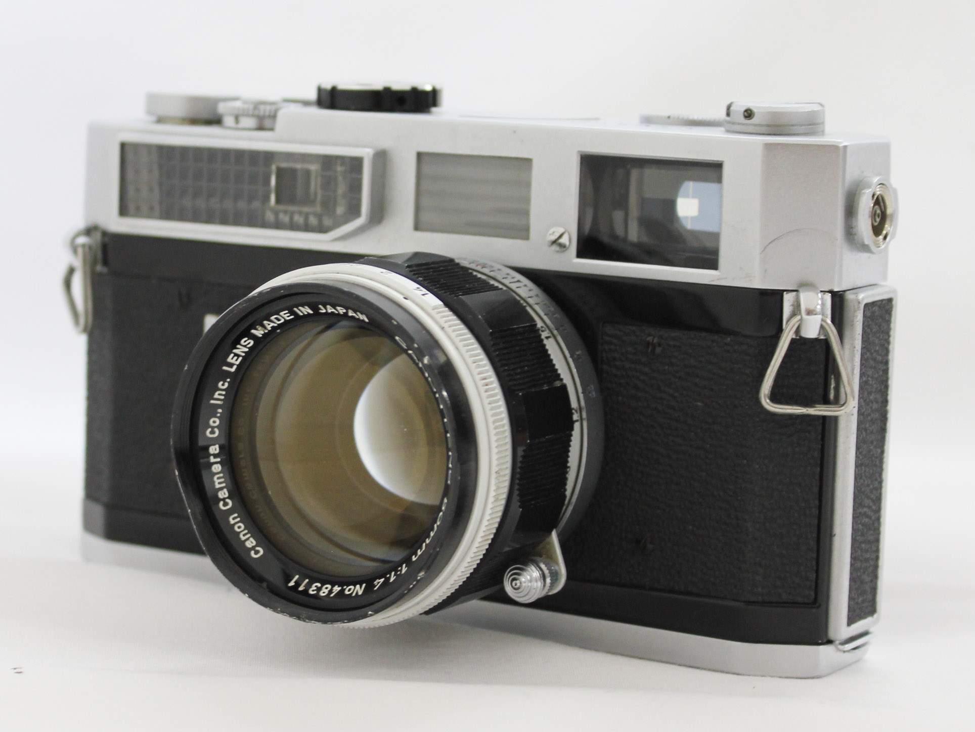 Japan Used Camera Shop | Canon Model 7 Rangefinder Camera with 50mm F/1.4 Leica L39 Mount Lens from Japan