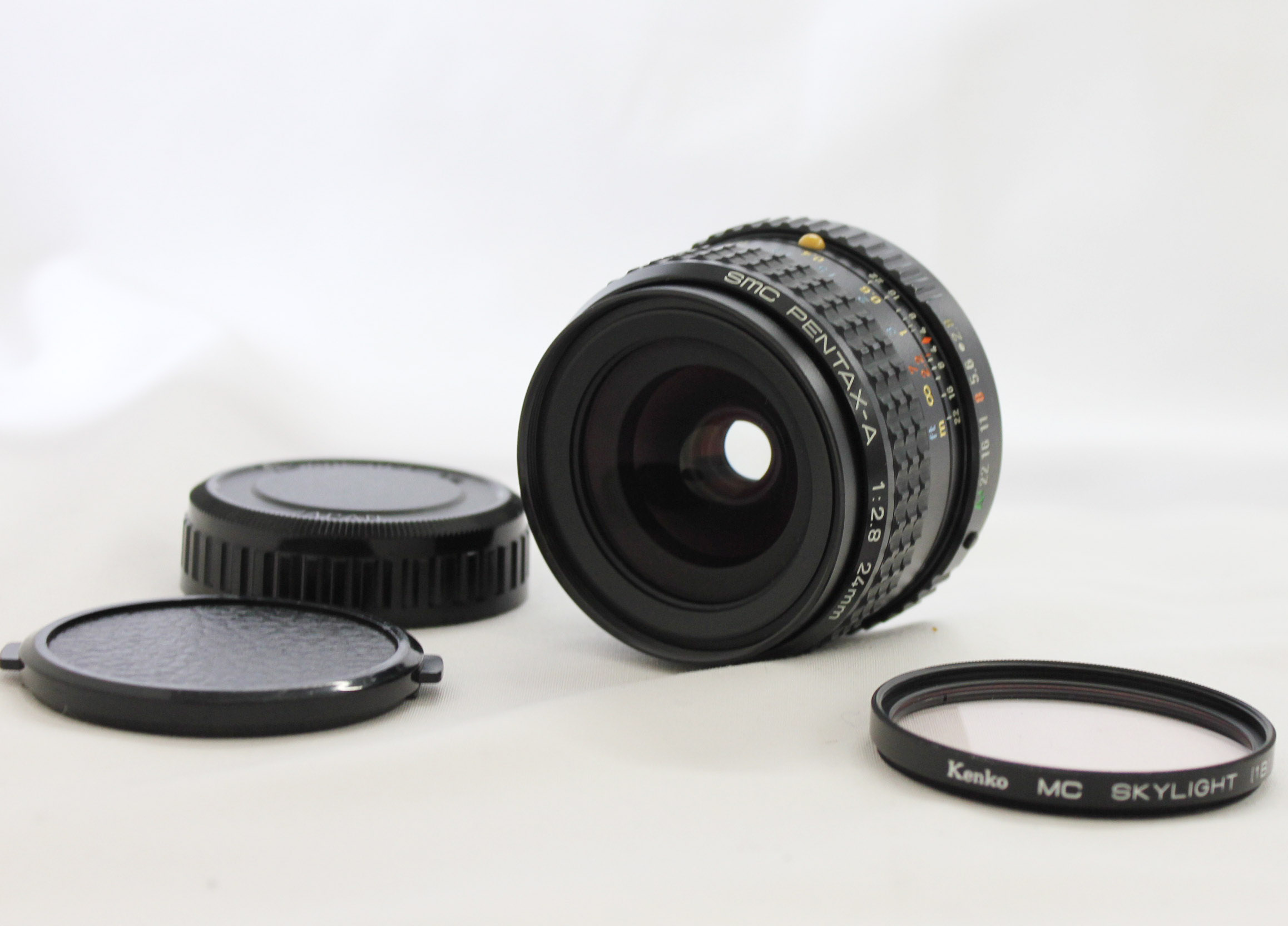Japan Used Camera Shop | SMC Pentax-A 24mm F/2.8 MF Wide Angle K Mount Lens from Japan