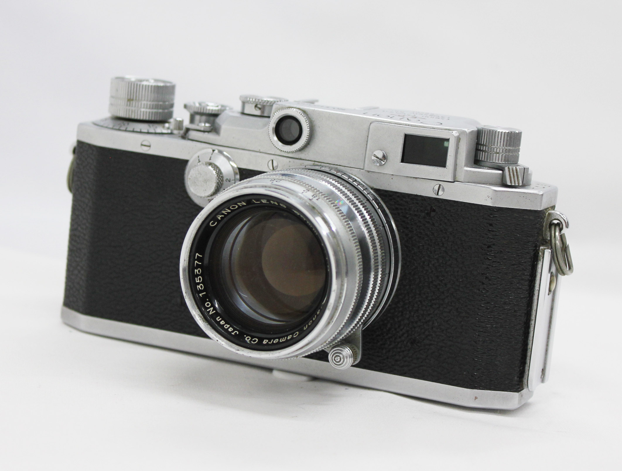 Japan Used Camera Shop | Canon Model II F EP Vintage 35mm Rangefinder Camera with 50mm F/1.8 Leica L39 Mount Lens from Japan