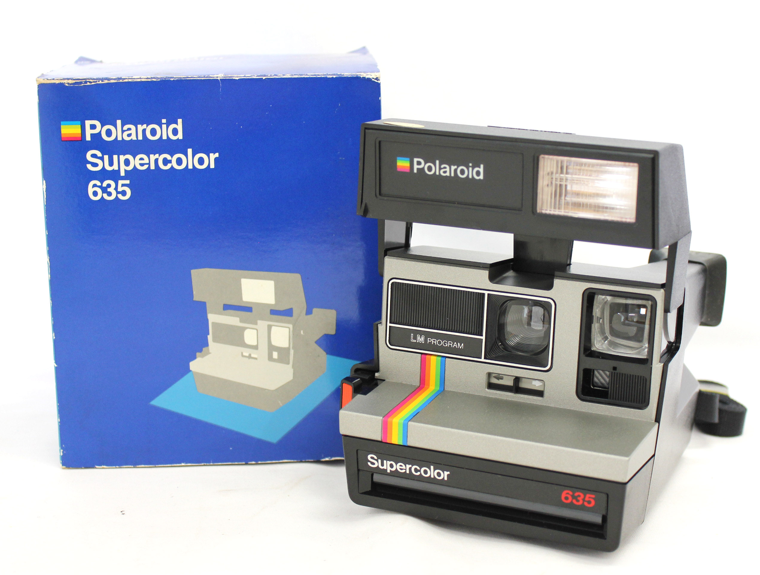 Japan Used Camera Shop | Polaroid Supercolor 635 LM Program (Tested) from Japan