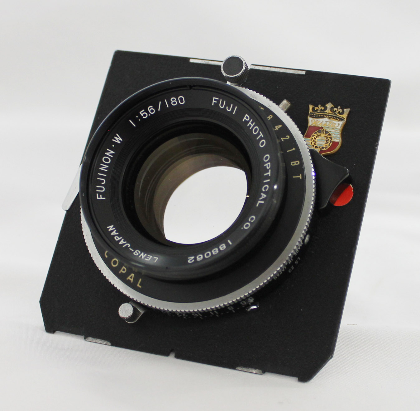 Japan Used Camera Shop | [Excellent+++++] Fuji Fujinon W 180mm F/5.6 4x5 Large Format Lens with Copal Shutter from Japan