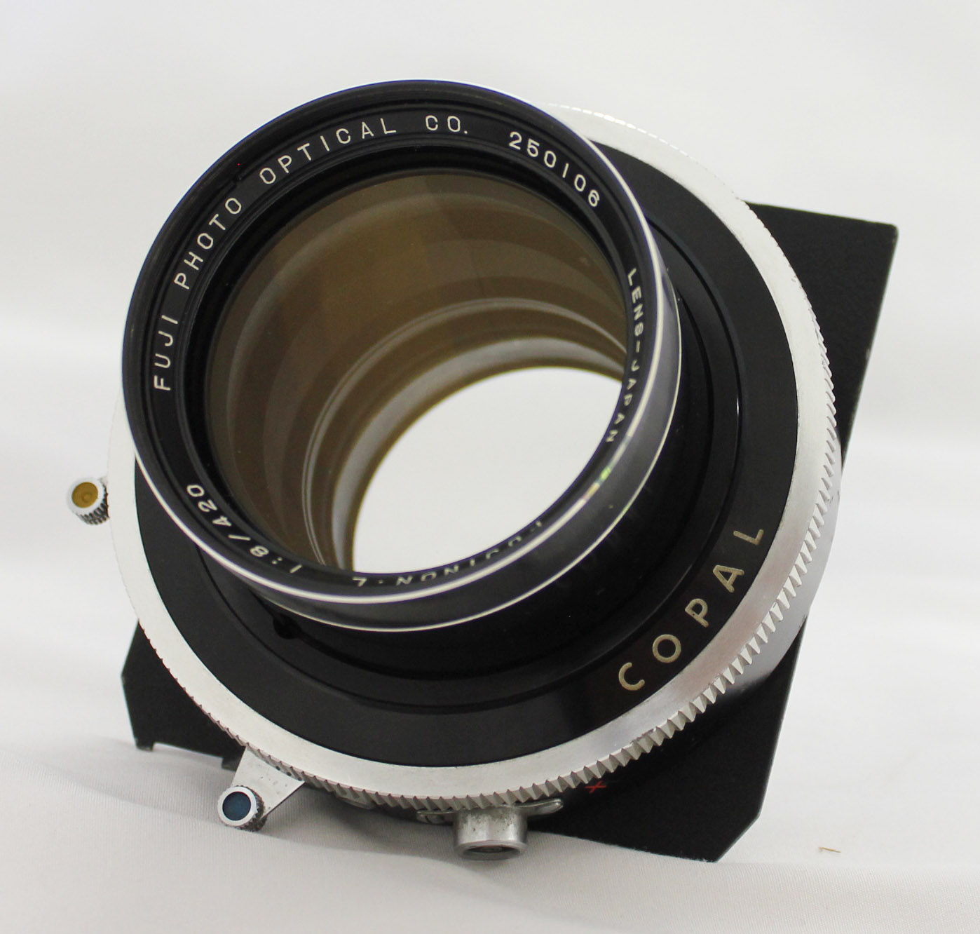 Japan Used Camera Shop | [Exc+++++] Fuji Fujinon L 420mm F/8 Large Format Lens w/ Copal Shutter from Japan