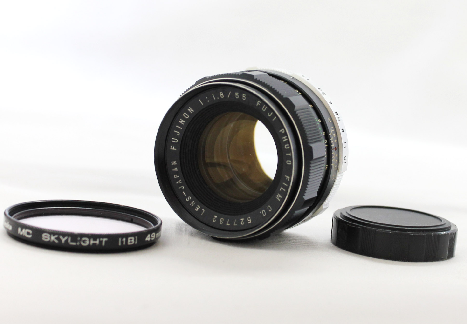 Japan Used Camera Shop | [Excellent++++] Fuji Fujinon 55mm F/1.8 M42 Mount MF Prime Lens from Japan