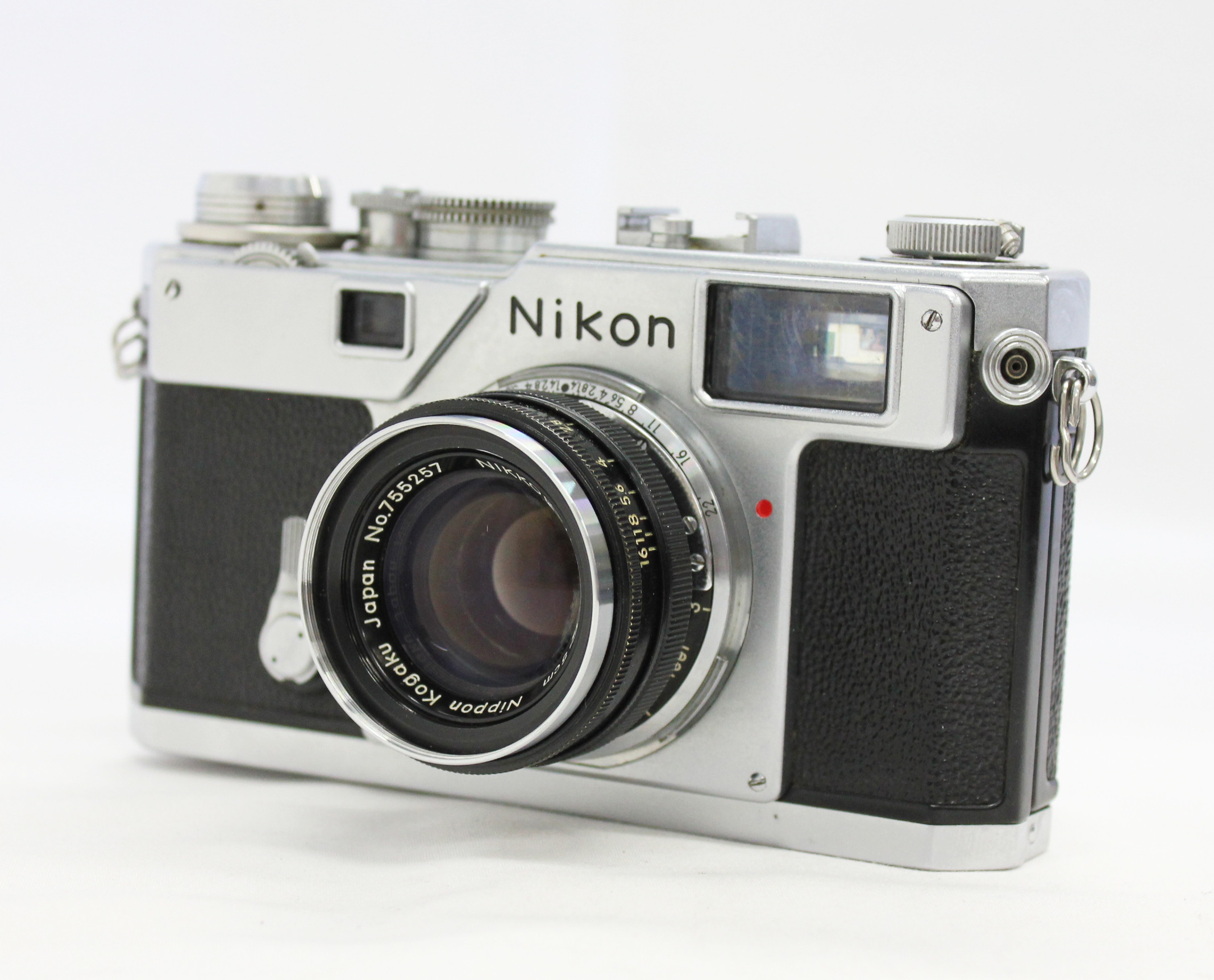 Japan Used Camera Shop | Nikon S3 35mm Rangefinder Camera w/ Nikkor-H 5cm 50mm F/2 Lens from Japan