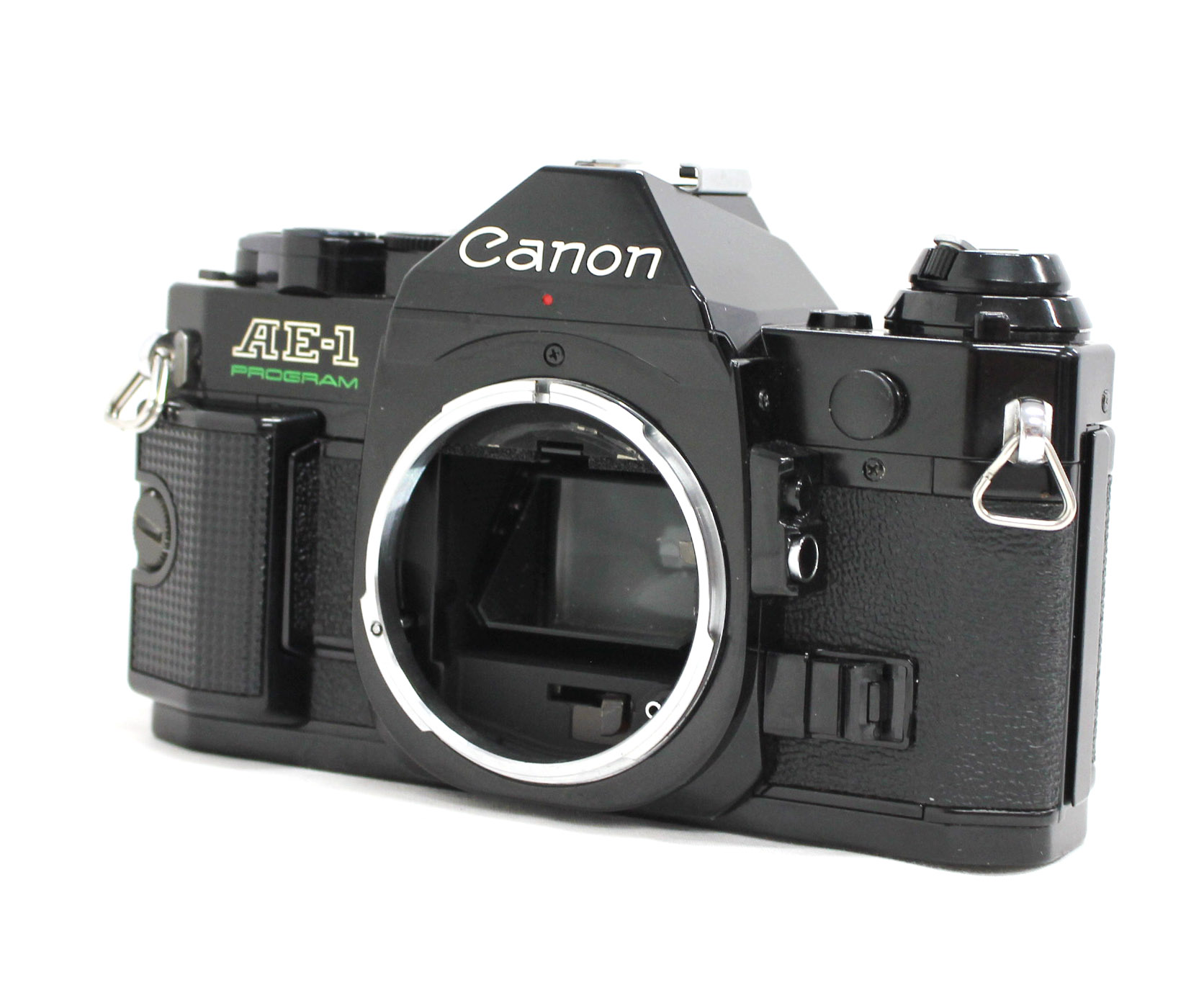 Canon AE-1 Program 35mm SLR Film Camera Black with New FD 35mm F/2.8 Lens from Japan Photo 1