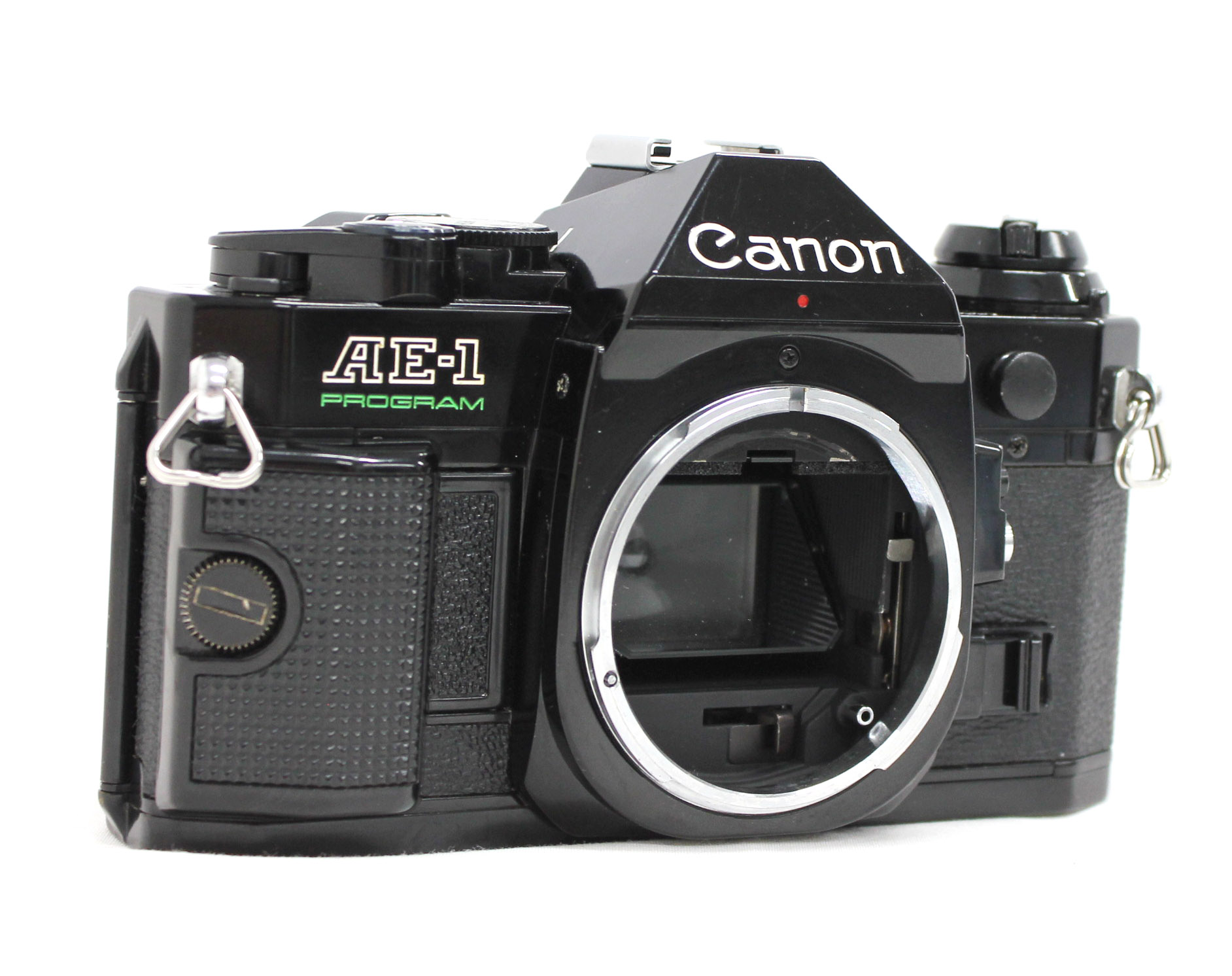 Canon AE-1 Program 35mm SLR Film Camera Black with New FD 35mm F/2.8 Lens from Japan Photo 2