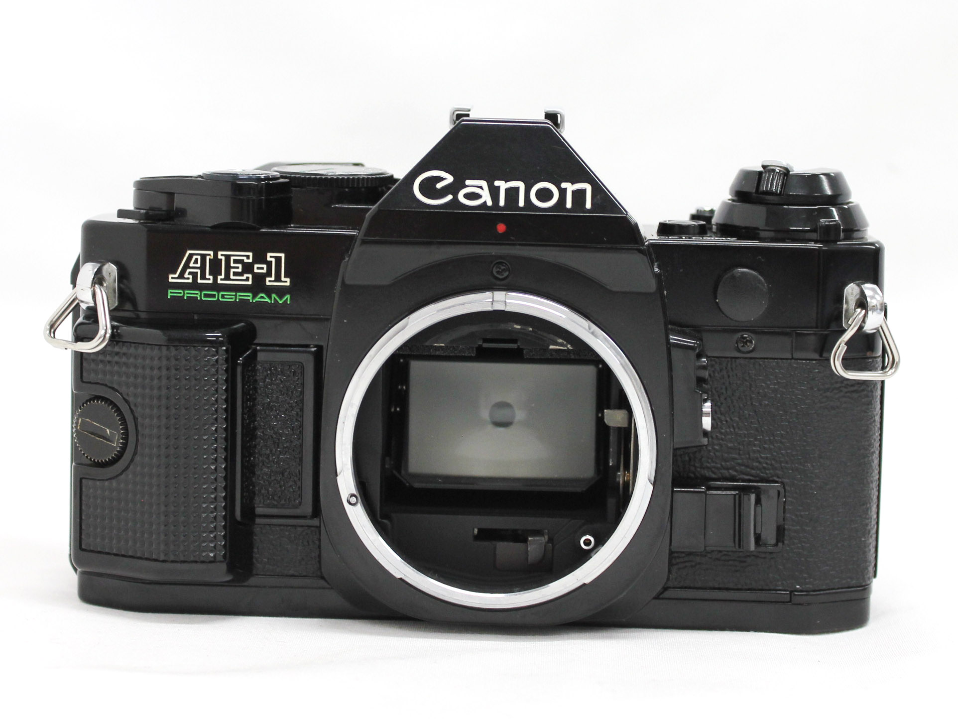 Canon AE-1 Program 35mm SLR Film Camera Black with New FD 35mm F/2.8 Lens from Japan Photo 3