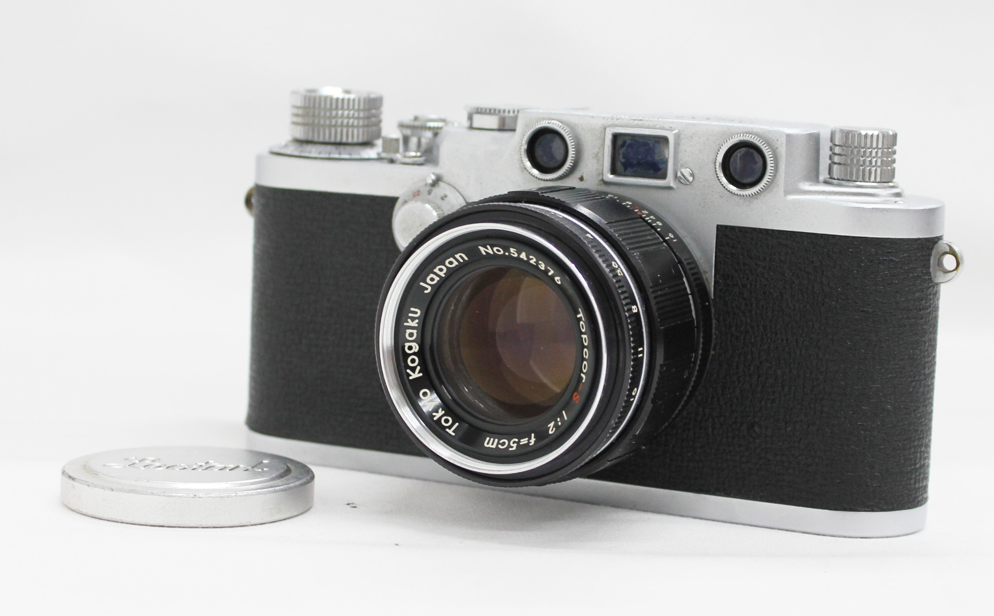 Japan Used Camera Shop | Nicca Type-3F III F Rangefinder Film Camera with Tokyo Kogaku Topcor-S 5cm 50mm F/2 L39 LTM Leica Screw Mount Lens from Japan