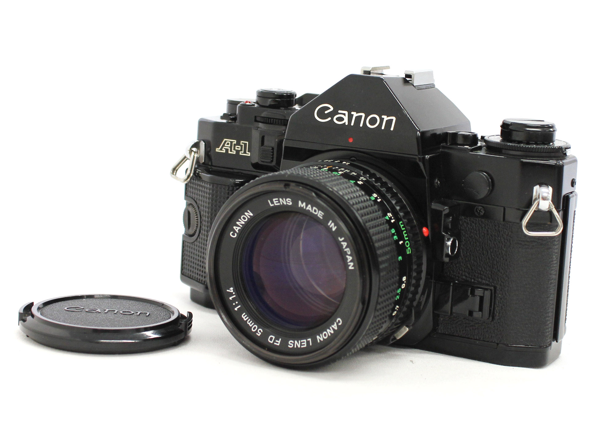 Canon A-1 35mm SLR Film Camera with New FD NFD 50mm F/1.4 Lens from Japan
