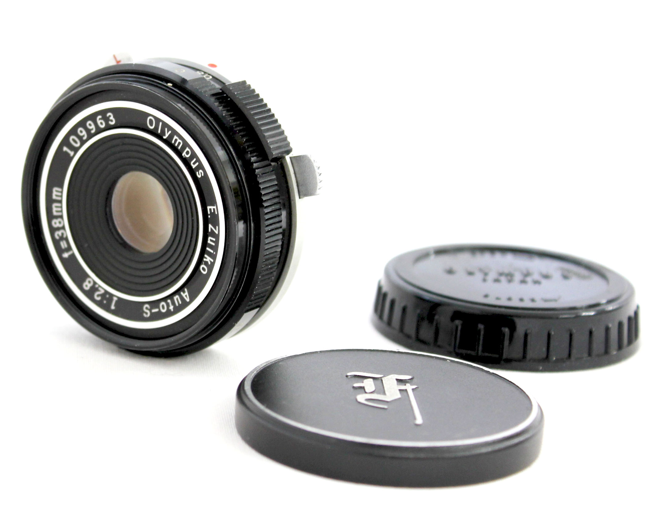 Japan Used Camera Shop | [Near Mint] Olympus E.Zuiko Auto-S 38mm F/2.8 Pancake Lens for PEN F FT from Japan