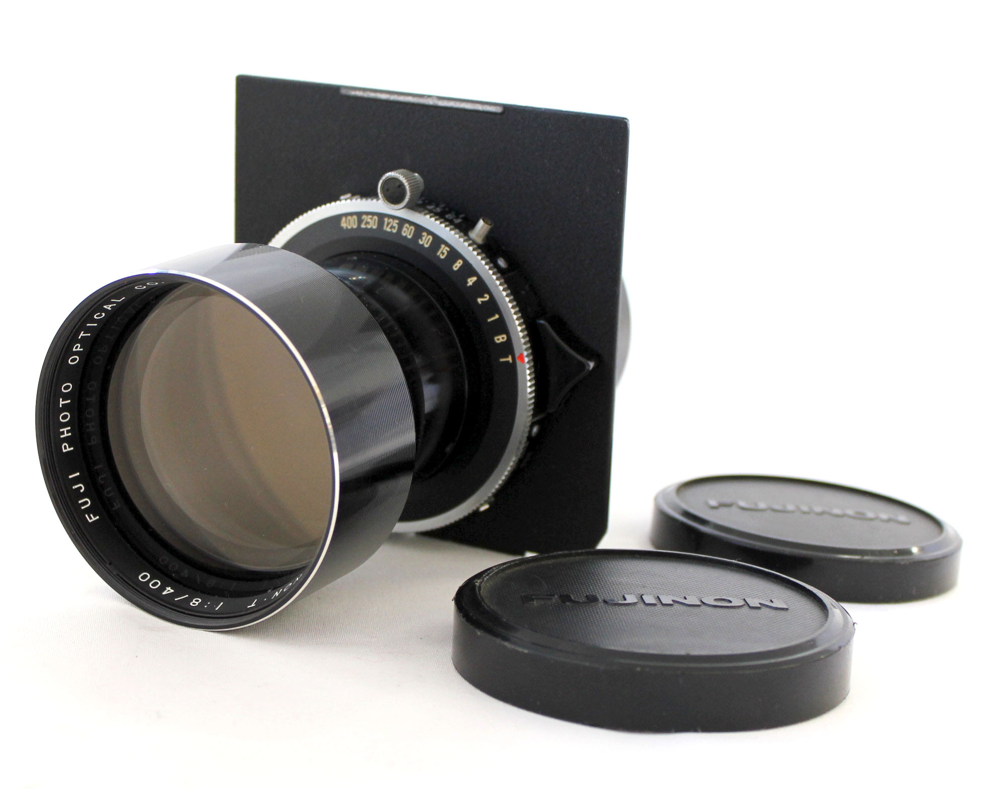 Japan Used Camera Shop | Fuji Fujinon T 400mm F/8 Large Format Lens w/ Copal Shutter from Japan