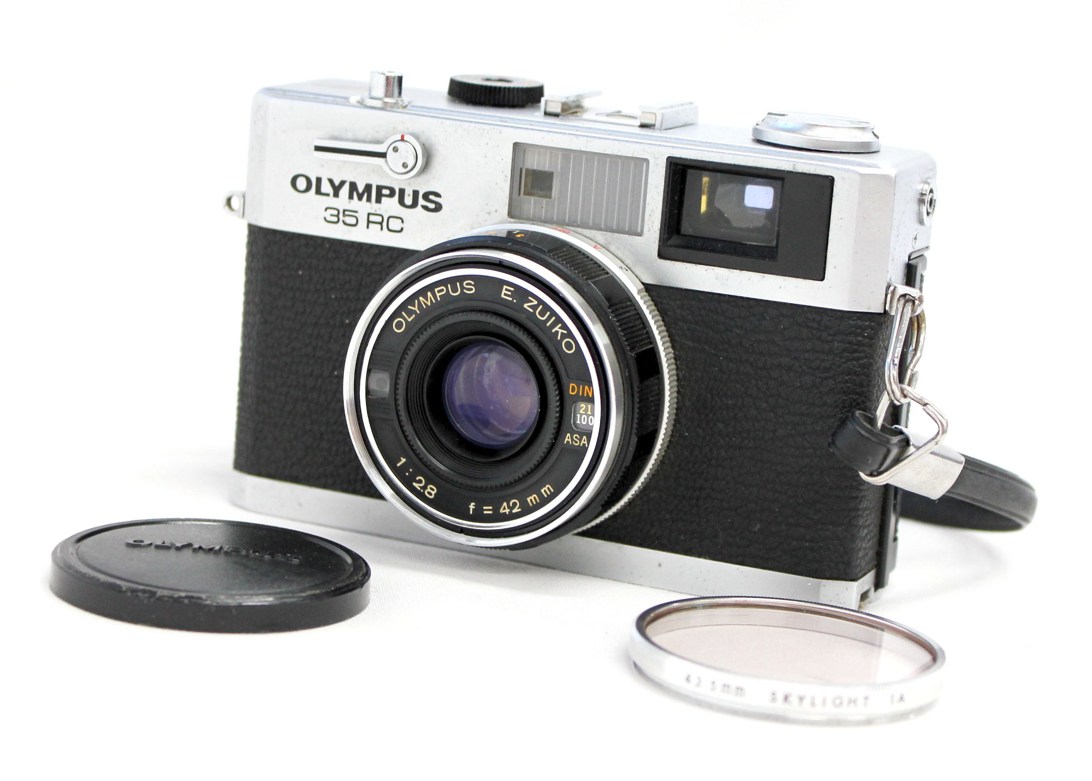 Japan Used Camera Shop | Olympus 35 RC Rangefinder Camera with E.Zuiko 42mm F/2.8 from Japan