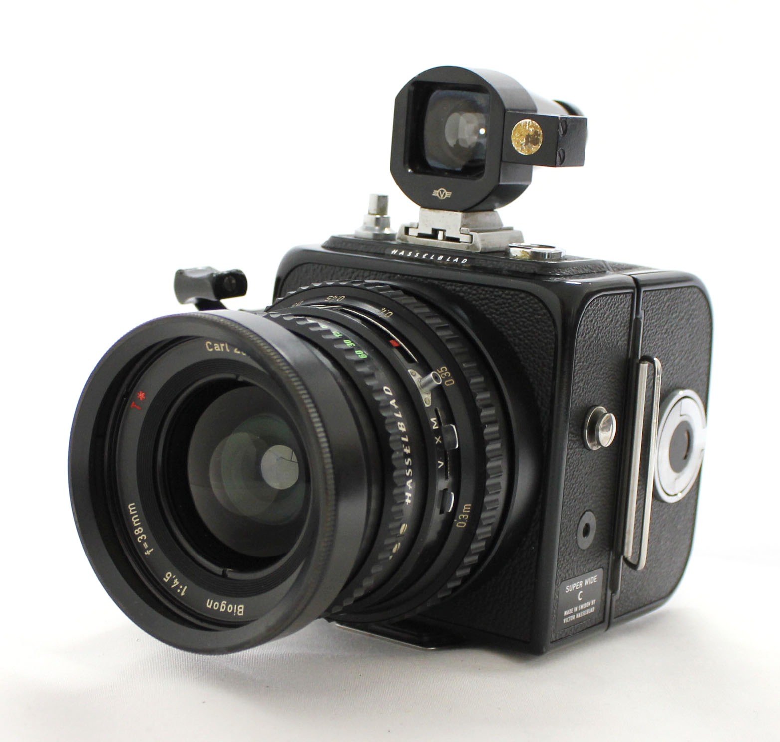Japan Used Camera Shop | [Excellent+++] Hasselblad SWC Super Wide C w/ Biogon 38mm F/4.5 T* Black from Japan