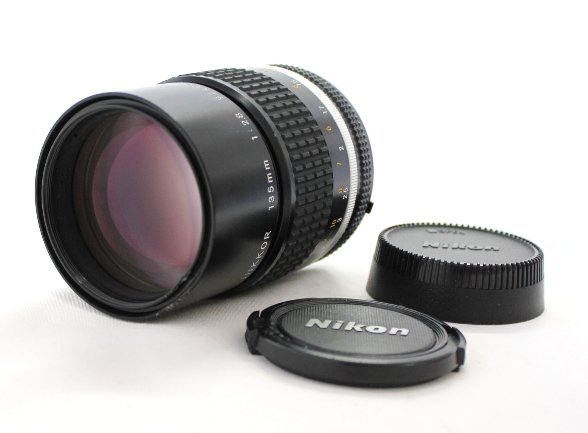 [Excellent++++] Nikon Ai-s ais Nikkor 135mm F/2.8 Telephoto MF Lens from Japan