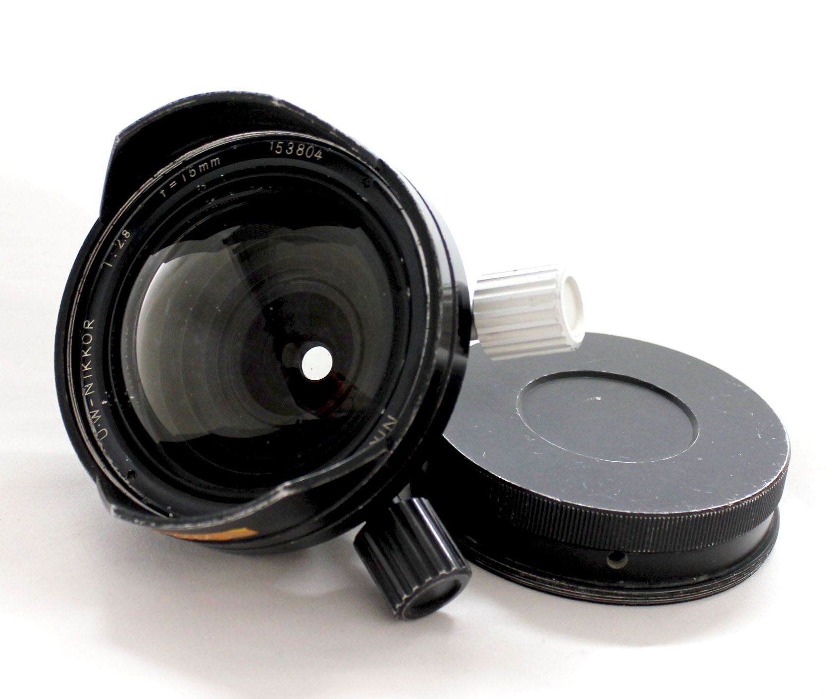 Nikon UW Nikkor 15mm F/2.8 Wide Angle Under Water Lens for Nikonos from Japan