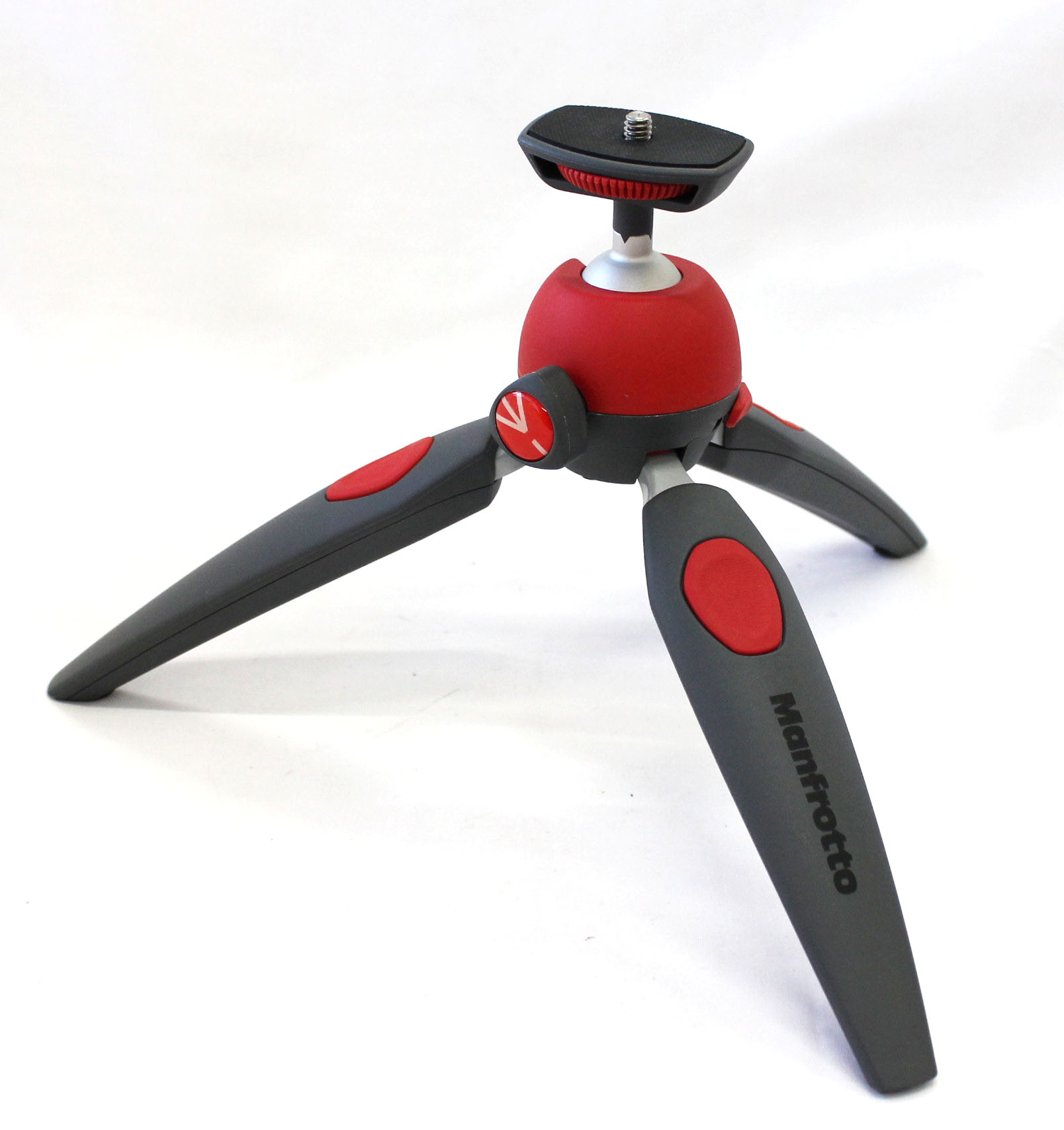 Japan Used Camera Shop | Manfrotto Tripod Mini Pixi Evo 2-Section Red from Japan