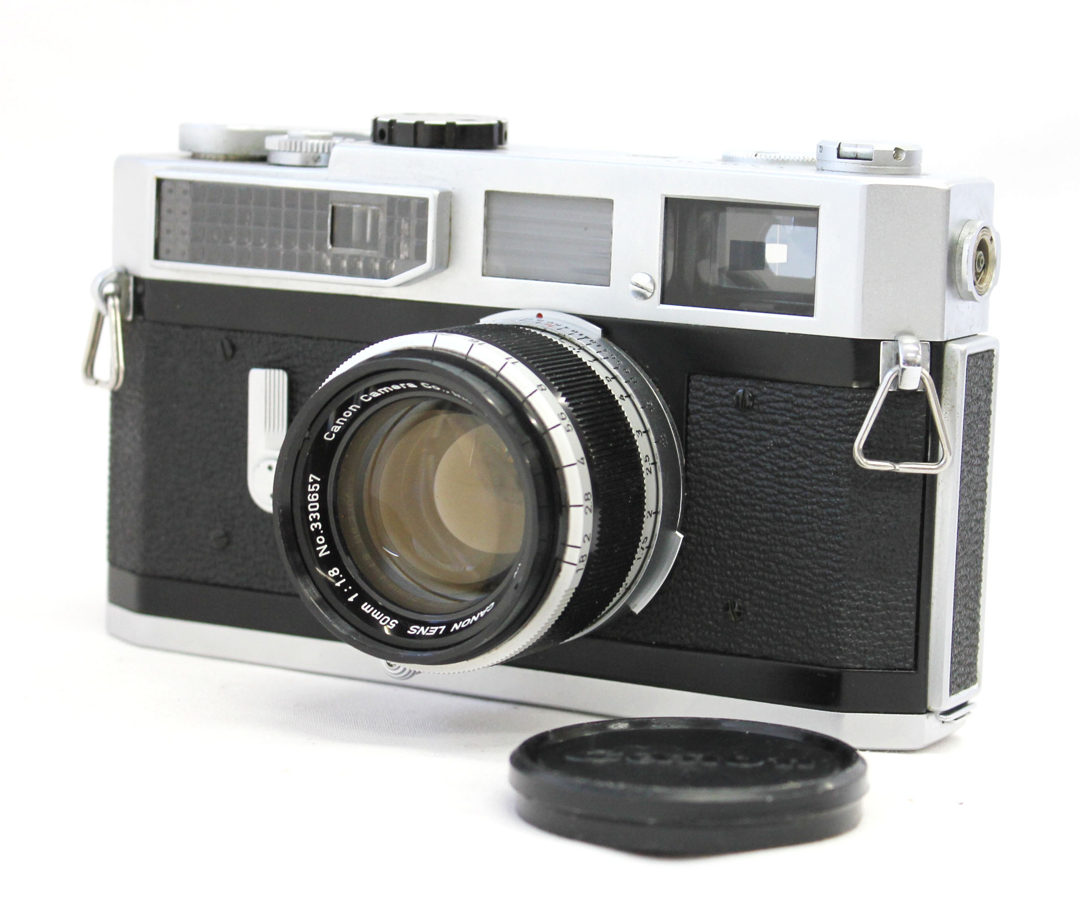Japan Used Camera Shop | Canon Model 7 Rangefinder Camera with Bonus Lens 50mm F/1.8 Leica L39 Mount from Japan