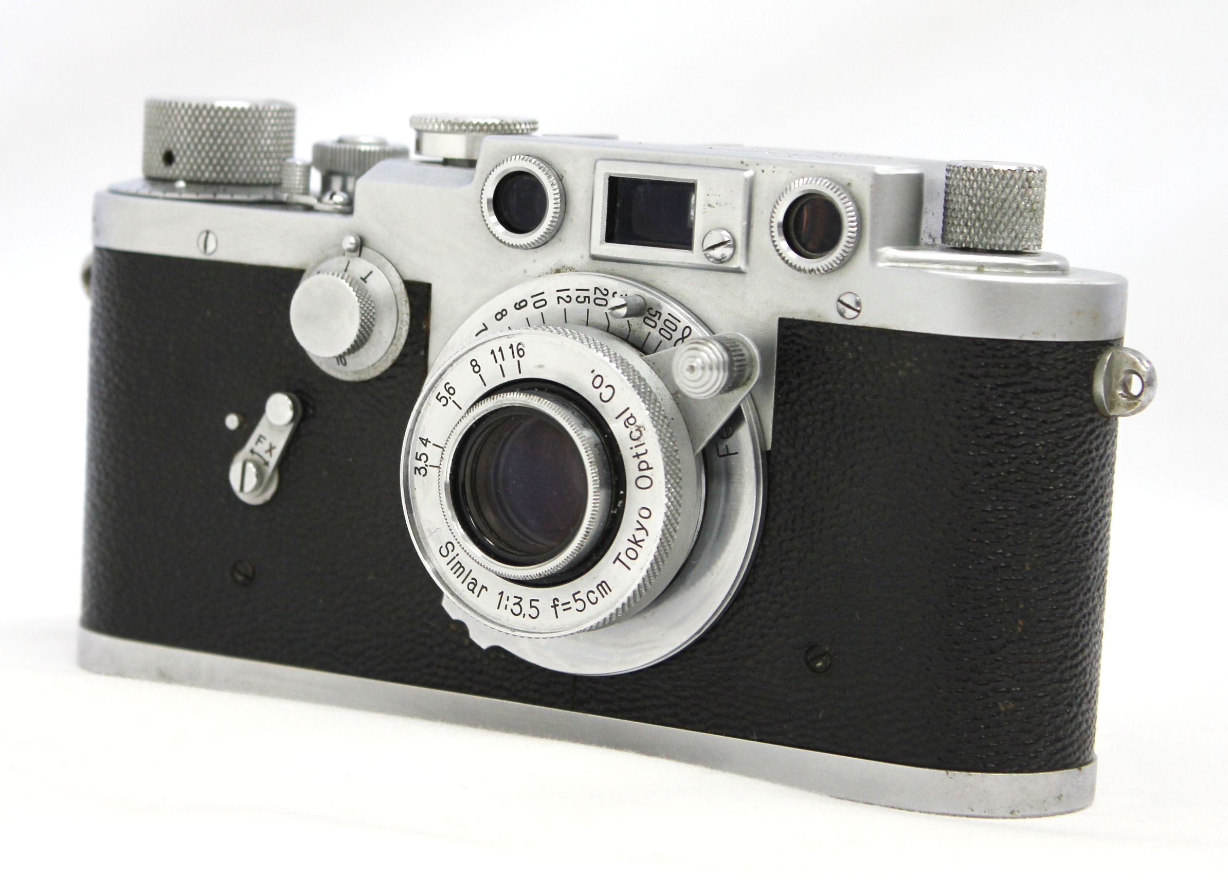 Japan Used Camera Shop | Leotax F Leica Screw Mount LTM M39 Rangefinder Camera with 50mm F/3.5 Lens from Japan