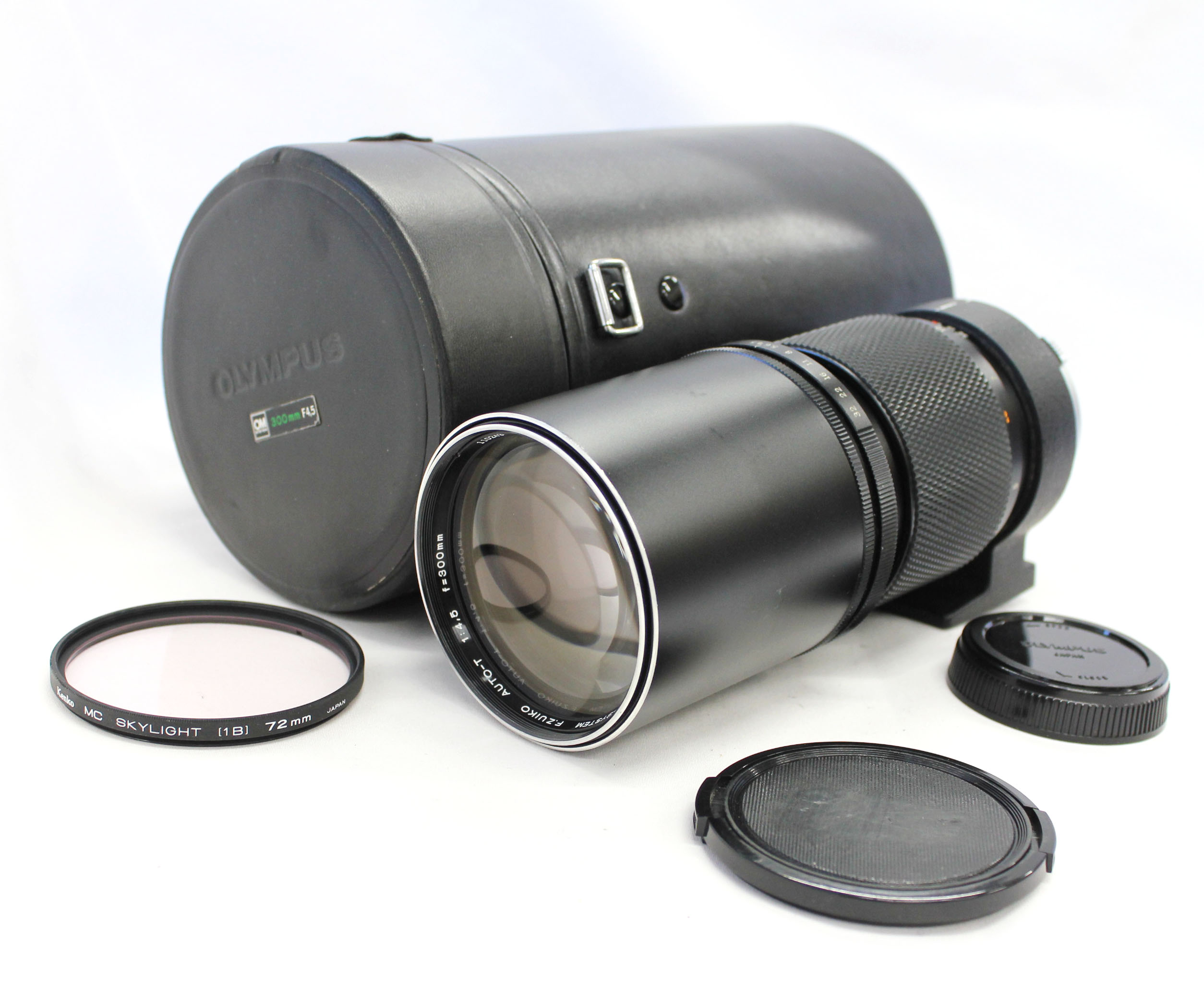 Japan Used Camera Shop | [Near Mint] Olympus OM-System F.Zuiko Auto-T 300mm F/4.5 MF Telephoto Lens from Japan